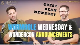 WORMHOLE WED RE-CAP - WONDERCON 2019 - DEAN NEWBURY INTERVIEW