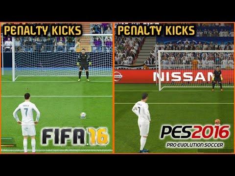 FIFA 16 vs. PES 2016: Penalty Kicks