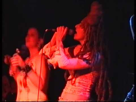 Ari Up and the true Warriors live at Pressure Point Brighton 2003