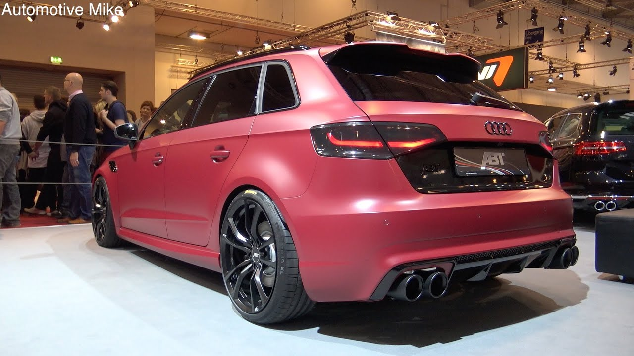 450hp Abt Audi Rs3 2015 Essen Motorshow 2015 Youtube