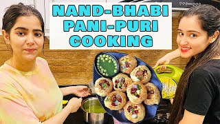 GOLGAPPA Cooking Recipe At Home with my Sister - in - Law  That Glam Girl