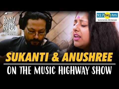 Sukanti and Anushree on the Music Highway Show
