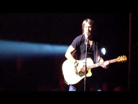 Keith Urban -- I Told You So (live)