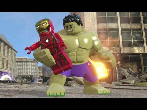 LEGO Marvel's Avengers - All Avengers Team Up Moves (Showcase)