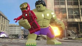 LEGO Marvel's Avengers - All Avengers Team Up Moves (Showcase)