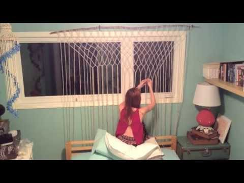 How To Make A Macrame Wall Hanging freepeople inspired diy macrame wall hanging - youtube
