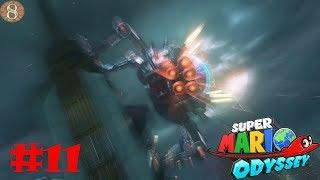 Let's play Super Mario Odyssey #11 UNE CHENILLE ELECTRIQUE !!