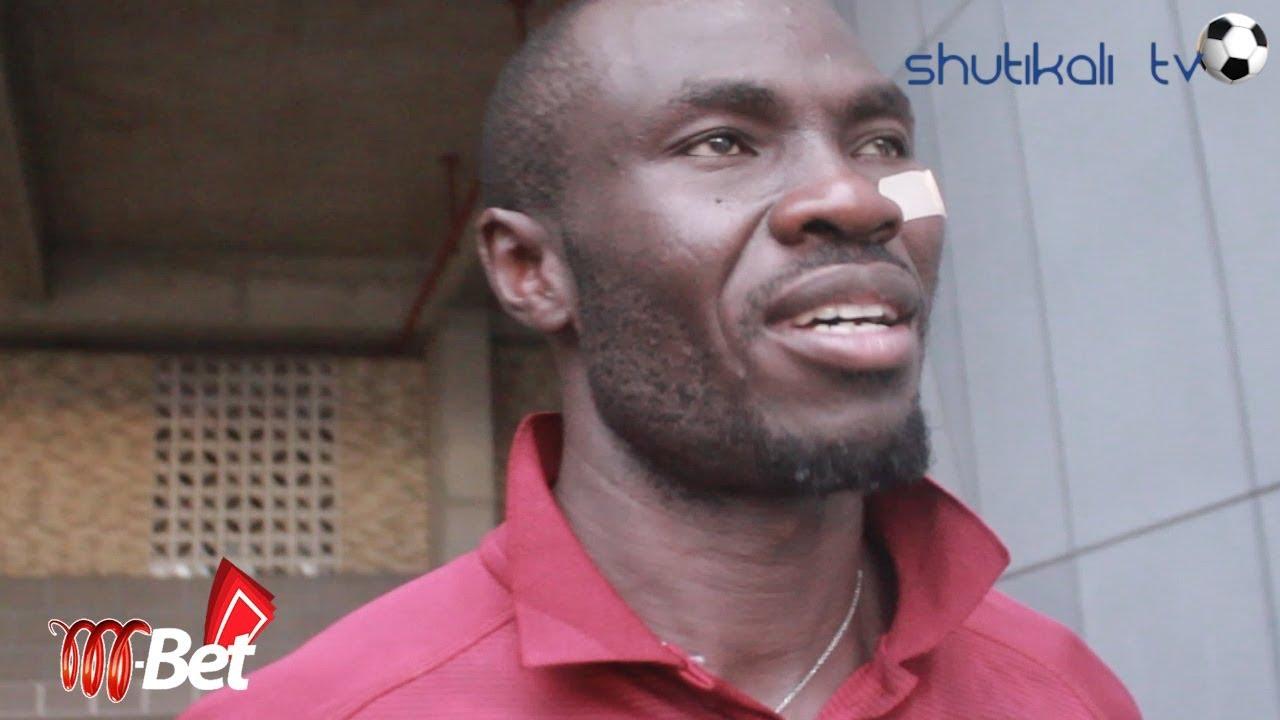 Hali ya Okwi Baada ya Kuzimia Kwenye Game  Azam FC  VS  Simba SC