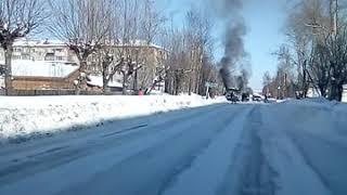 пожар в автобусе Вельск