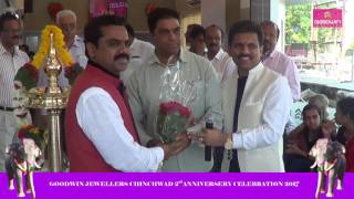 GOODWIN JEWELLERS CHINCHWAD 2nd ANNIVERSARY CELEBRATION