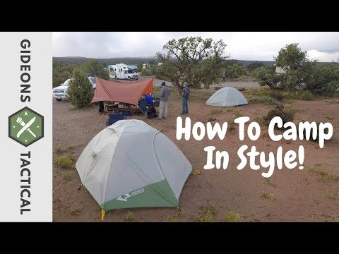 How To Camp In Style: Mountainsmith Morrison Evo 4 Tent