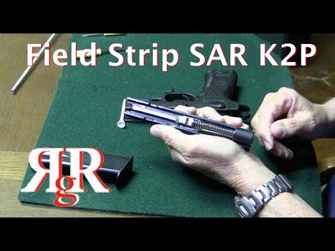 SAR K2P Field Strip / Sarsilmaz CZ-75 Variant