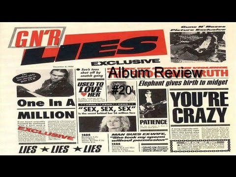 Guns N' Roses Discography:- Lies Album Review #20