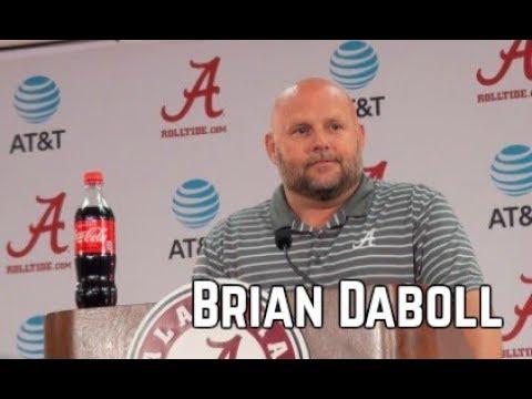 Alabama Offensive Coordinator Brian Daboll