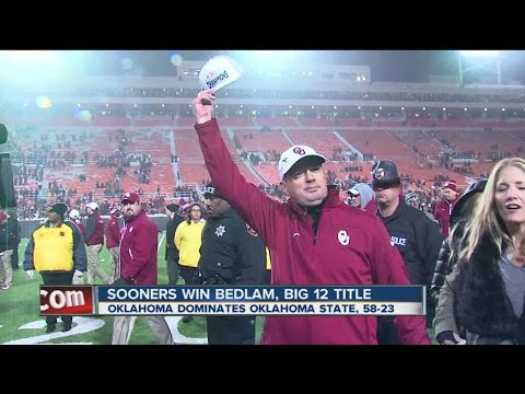 Sooners win 9th Big Title, CFP likely next