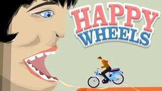 口の中にいらっしゃい♪ - Happy Wheels 実況プレイ