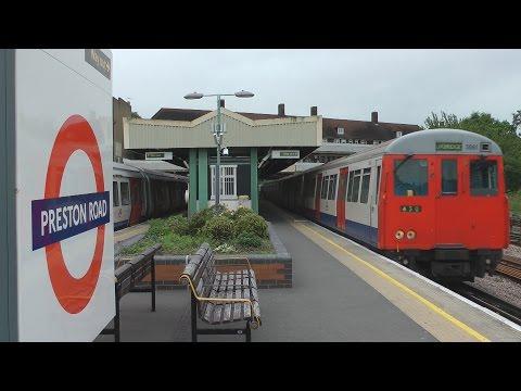 Last weeks of Metropolitan Line A Stock 27th June 2012 King's Cross - Euston - Uxbridge & C Stock