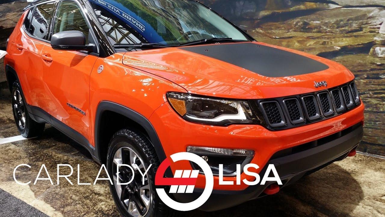 Bustard Chrysler Waterloo >> 2017 Jeep Compass Trailhawk | Sneak Peek - YouTube