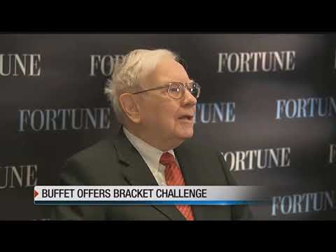 Buffet again will pay big bucks for the perfect bracket