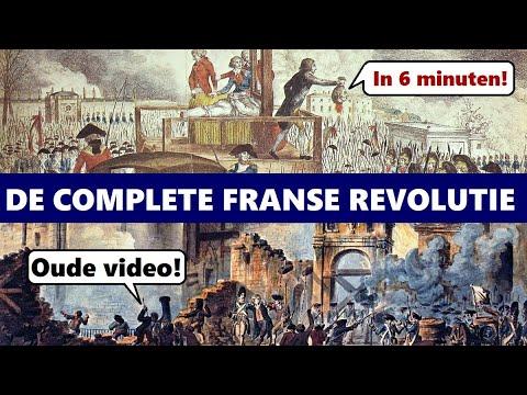 Wat is de Franse Revolutie? Tijdvak 7, KA 30