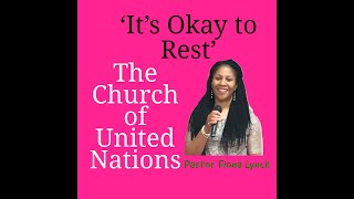 Its Okay To Be Still with Pastor Fiona Lynch