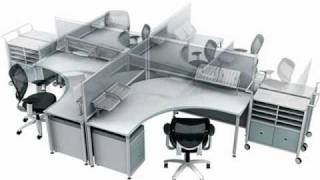 Cool Office Furniture Modern Computer Workstation Contemporary Computer Workstation - Spacify