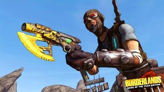 BORDERLANDS REMASTERED - MY FIRST TIME PLAYING! (Borderlands GOTY Remastered Gameplay Part 1)