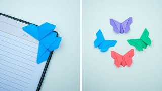 Butterfly Bookmark - Paper Bookmark - How To make Bookmark - Bookmark Making - Easy Bookmark -DIY