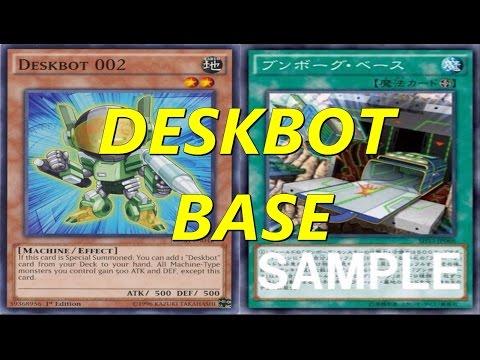 Yugioh - Deskbots Duels (With Deskbot Base)