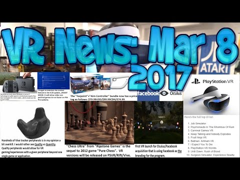 VR News: Mar 8 - Students HACK Positional Tracking onto Gear VR using SteamVR & More!