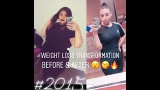 MY OVER 180LB WEIGHT LOSS TRANSFORMATION (before & after)
