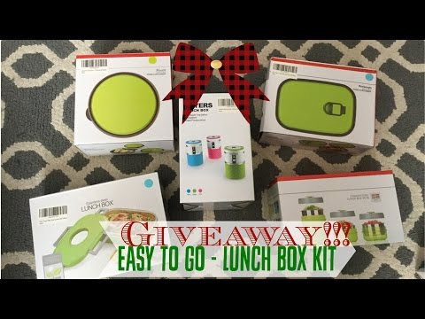 Easy To Go Lunchbox Giveaway!!! | Vlogmas #27 (CLOSED)