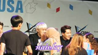 KCON2016LA. MONSTA X Hi Touch