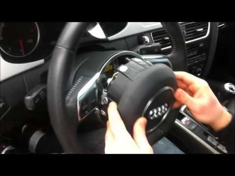 Montaggio Airbag Volante Audi A4 Youtube