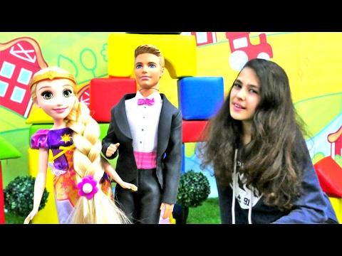 Baixar Ken ve Rapunzel'i evlendiriyoruz. Elbise boyama oyunu