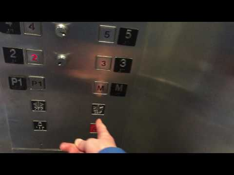 OTIS HIGH SPEED Traction Elevators at Some Office Building in Winnipeg MB
