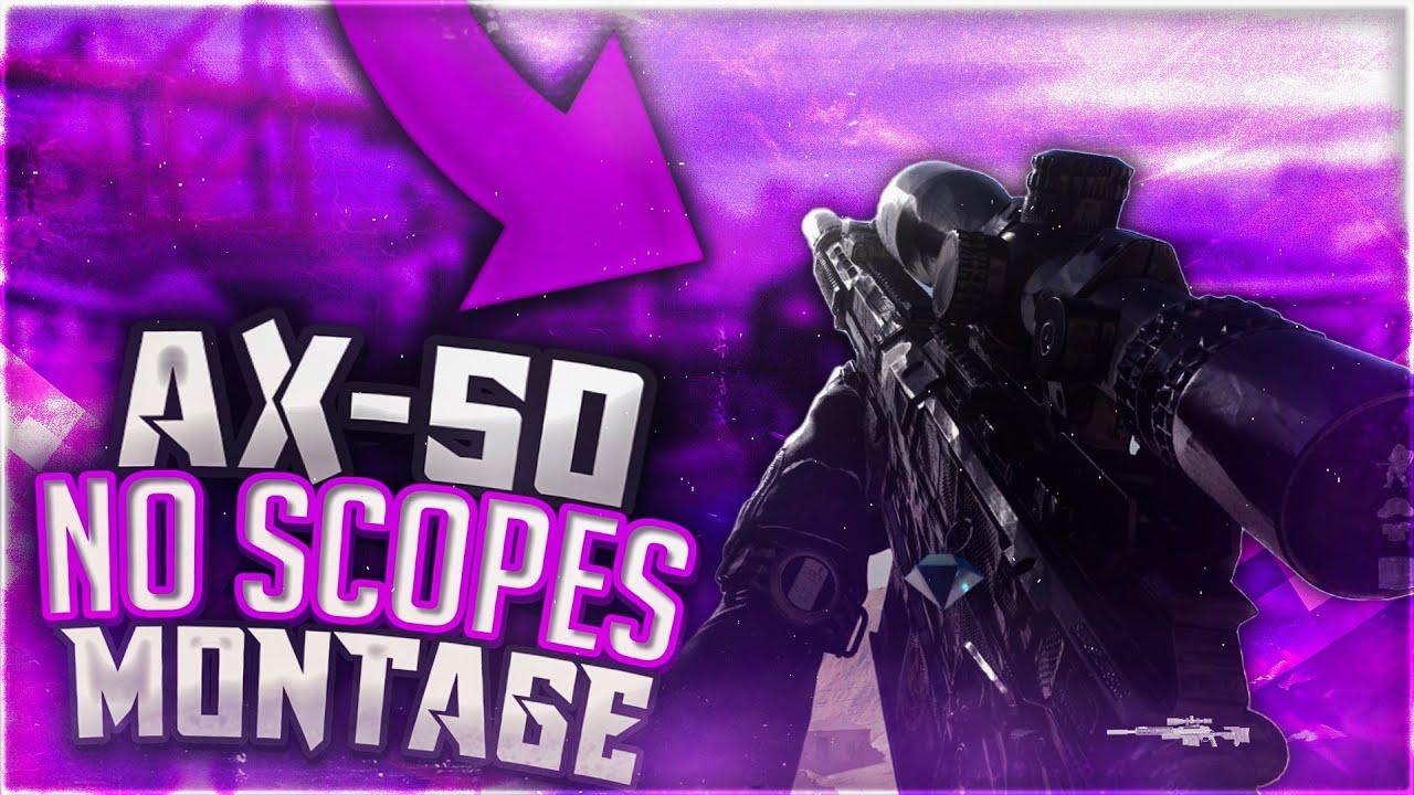 No Scopes AX-50 - A Modern Warfare Montage - Ransom Lil Tecca #FaZe5