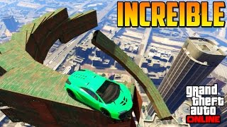 increble mega acrobacia gameplay gta 5 online funny moments