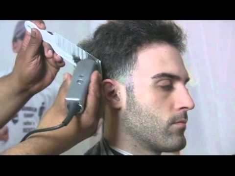 how to style straight hair men how to cut a taper on hair 6148 | hqdefault