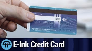 US Bank Testing Anti-Fraud Credit Cards with E-Ink Displays