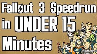 Fallout 3 Beaten in 14:54 (Any% Speedrun)