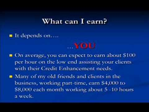 How to make money with a work from home credit repair business - YouTube