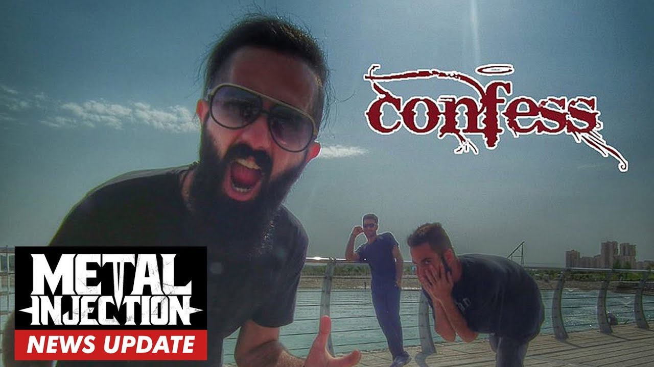 CONFESS Members Sentenced To 14+ Years in Iranian Prison & 74 Lashes For  Playing Heavy Metal