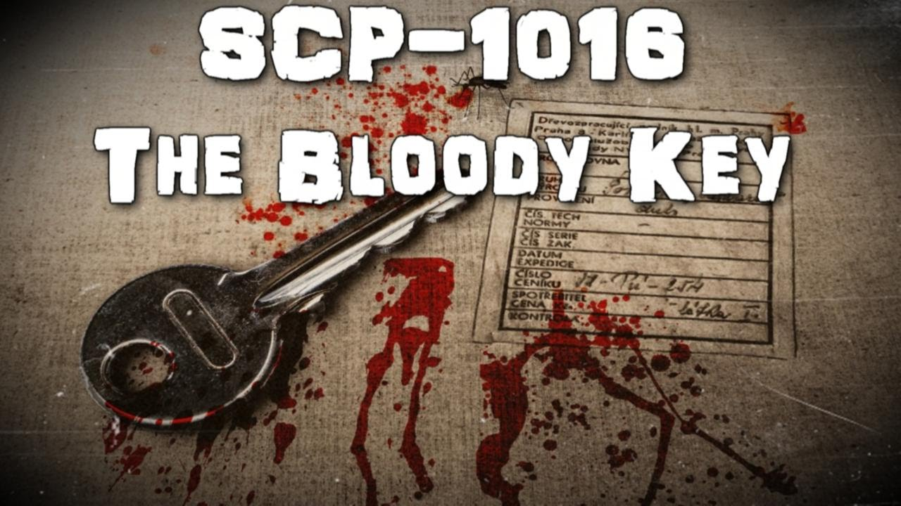 Scp-1016 The Bloody Key