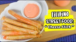 HOW TO MAKE CHEESE STICKS using Cheese Powder - Anne Foodie