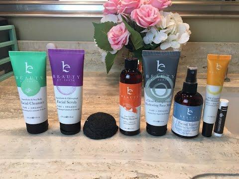 Skincare routine for breakouts and acne prone skin