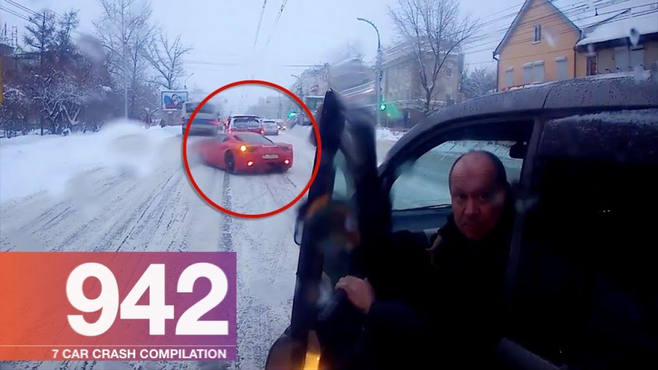 Car Crash Compilation 942 – December 2017