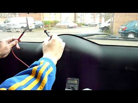 How To Repair Rear Windscreen Heater Lines