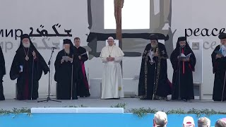Pope visits Bari to pray for peace in the Middle East