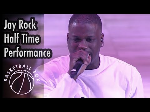[NBA] Jay Rock Half Time Performance, GSW Vs LAC, January 10, 2020